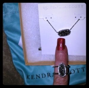 Kendra Scott Necklace and Ring Set